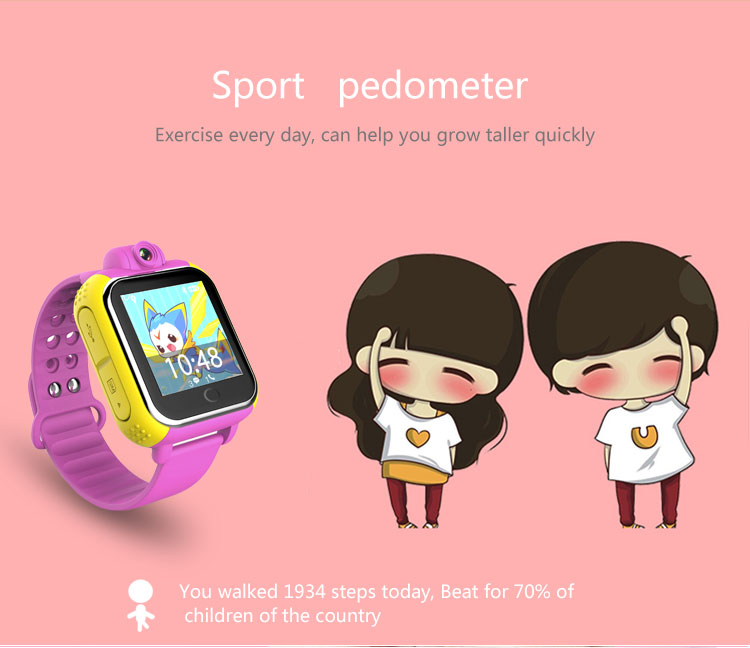 GPS Positioning Card Two-way Voice Monitoring SOS Alarm, Children, Elderly Positioning Watch, Android, IOS System