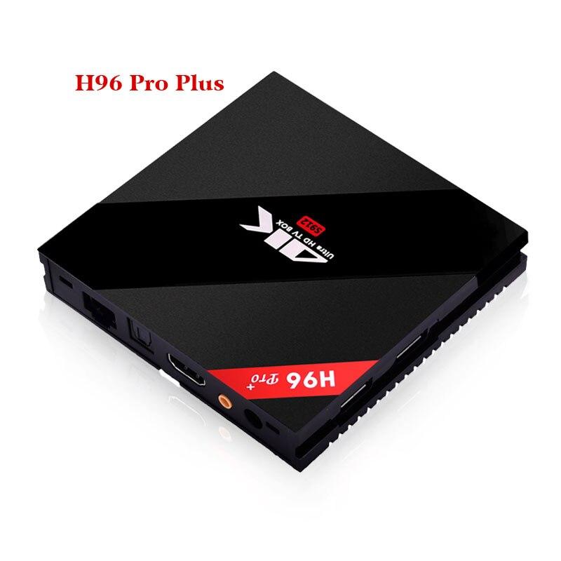 H96 Pro Plus Amlogic S912 Android TV Box 2 GB/3 GB 16 GB Octa Core 2.4G/5 GHz WIFI 4 K décodeur intelligent IP TV lecteur multimédia - 5