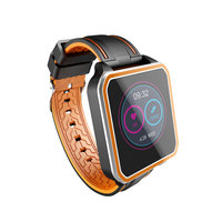 KISSCASE Bluetooth Smart Watch Connectivity Fitness Tracker Wristband For iPhone Samsung Blood Pressure Heart Rate Bracelet