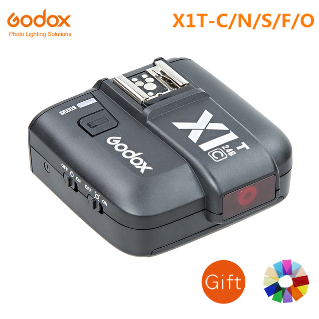 Transmetteur de déclenchement Flash sans fil TTL Godox X1T 2.4G pour appareil photo Canon Nikon Fujifilm Olympus (X1T-C/N/S/F/O)