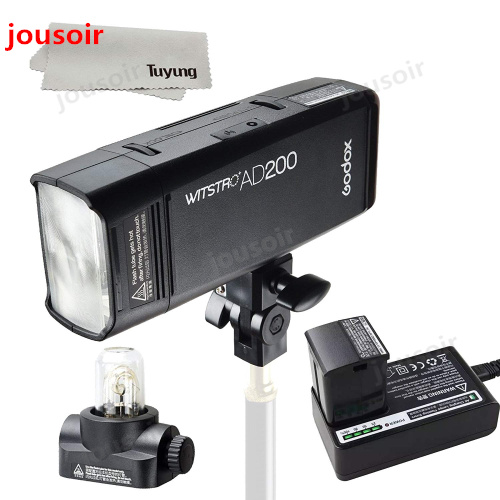 Godox AD200 200Ws GN60 HSS Flash Strobe Embutido 2.4G Transmissor Sem Fio X Sistema para Alcançar TTL e X1 para c/N/S/F/O CD45