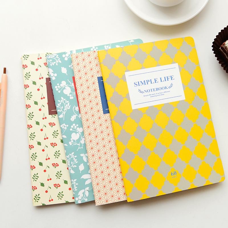 School Diary Notebook A5 Paper 30 Sheets 2PCS Exercise Book Office School Supplies Notebooks Wholesale