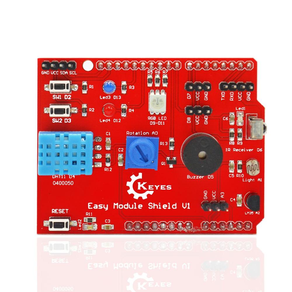 KEYES  Multi-purpose Shield V1 For Arduino UNO R3 And MEGA2560
