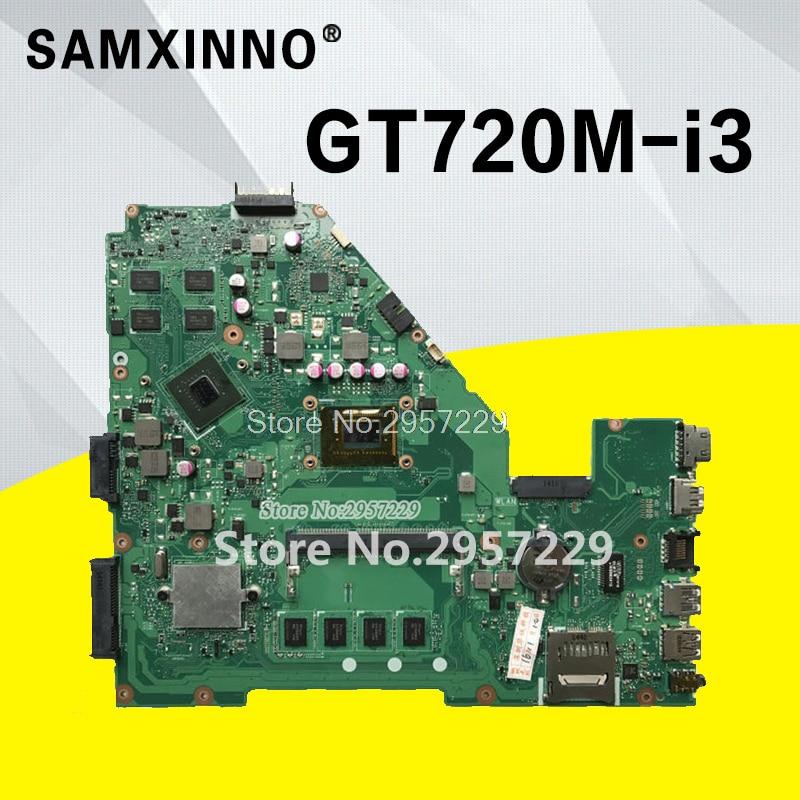 X550CC Motherboard GT720M-i3-REV:2.0 For ASUS R510C Y581C X552C laptop Motherboard X550CC Mainboard X550CC Motherboard test ok цена