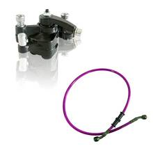 Cheap price 80cm Oil Brake Fuel Line Rear Disc Brake Caliper W/ Pad 47cc 49cc Mini PIT Dirt Quad