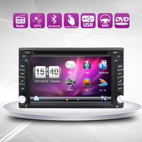 New Universal Car Radio Recorder Double 2 Din Car Dvd Player GPS Navigation In Dash Car