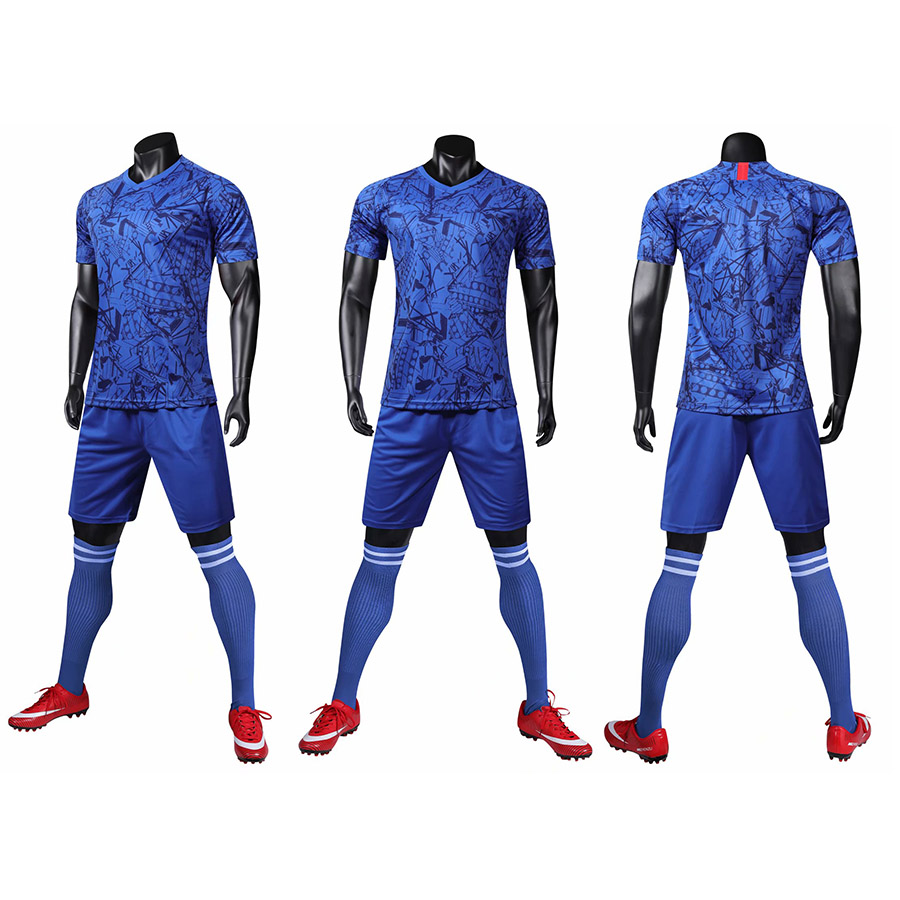 New short sleeved game football sportswear suit training suit suit running sports suit customizable clothing in Soccer Sets from Sports Entertainment