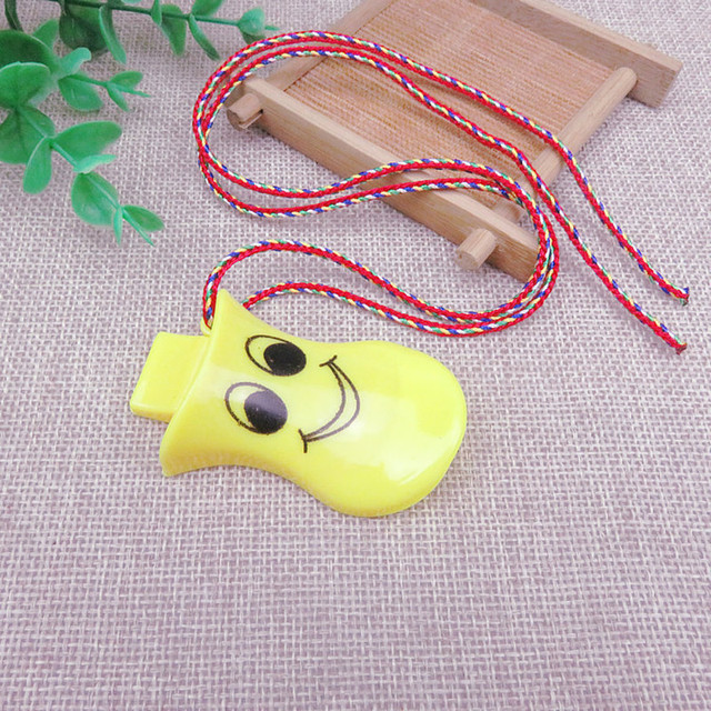 Set of 10 Colorful Whistles