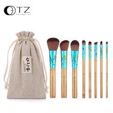 TZ Makeup Brushes Professional 8PCs Makeup Brush Set Soft Hair Make Up Brush Foundation Powder Eye Cosmetic Brush Tool with Bag