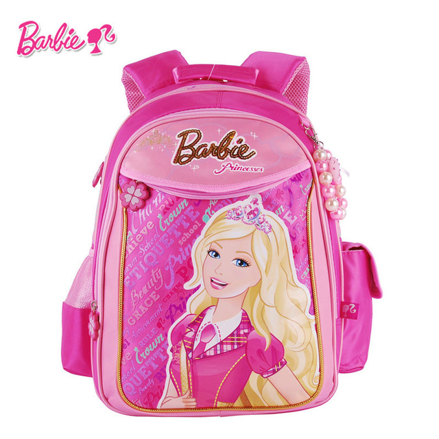 8512c94ff595 Барби студенты мультфильм начальной школы мешок книги для девочек рюкзак  портфель Class/класс 1-