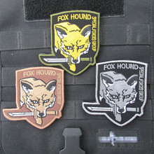 Metal Gear Solid Military Army Tactical Morale Embroidery Patches For Clothes Cl