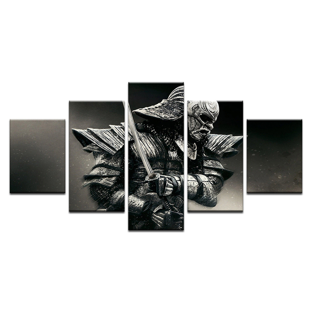 US $9 68 |The 47 Ronin Samurai Japan Warrior HD Printed Poster Movie Art  Wall Oil Picture Frame Painting on Canvas For Living Room-in Painting &