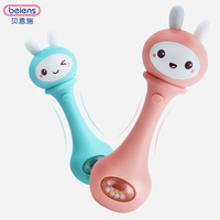 Beiens Baby Toys Hand Bells Puzzle music and Light Shaking Rattles 6 12 Months Sound and light rhythm induction