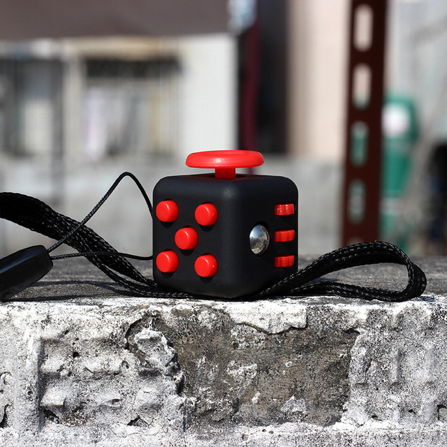 2.2 cm Fidget Cube with Strap