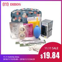 Dibos NEW lashes extension kit for eyelashes, patches for eyelash extension, eye pads, Eyelash extension makeup
