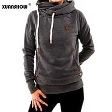 XUANSHOW Female Hoodies Sweatshirts 2019 Fashion Winter Thic