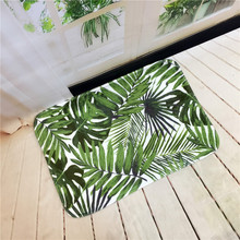 Plants Printed Floor Mats