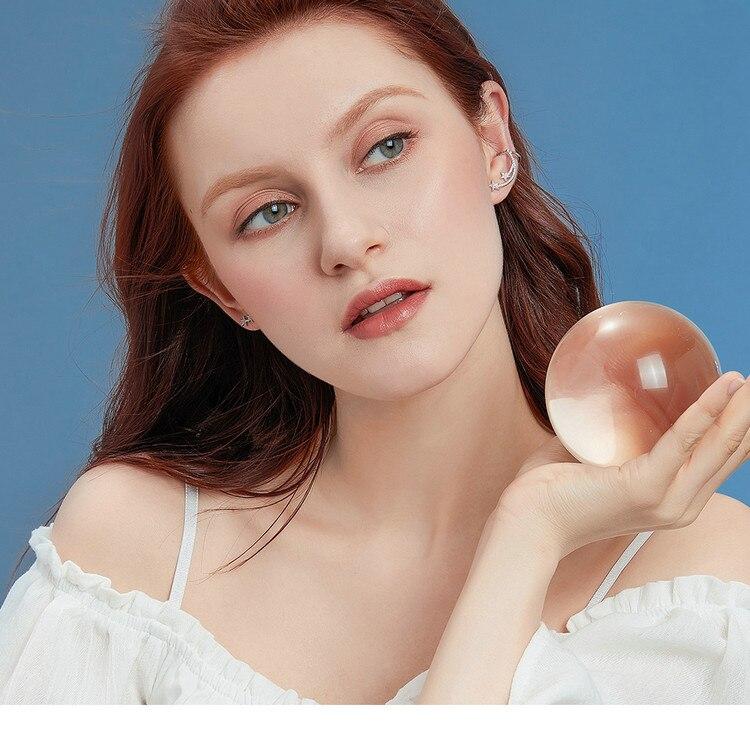 HTB1JDXVV3HqK1RjSZFPq6AwapXaN BAMOER Star Comet Asymmetry Stud Earrings for Women Clear CZ Bright Meteor Ear Stud 925 Sterling Silver Jewelry Femme BSE087