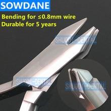 Dental Orthodontic Three Jaw Plier 12.5cm (maximum for 0.6mm Diameter wire) Instrument dental acrylic organizer holder case for orthodontic preformed wire