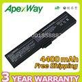 Apexway 4400 mah batería para asus 70-nhq2b1000m 90-ndq1b1000 90-ndt1b1000z a32-m9 a32-w7 m9a m9f m9j m9v w7 w7f w7j w7s