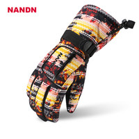 Child Ski Gloves Winter Waterproof Snowboard Boys Skiing Gloves Children S Riding Motorcycle Nandn Windproof Girls