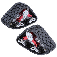 2Pcs Tanky All Terrain Tracks EP Axial SCX10 Wraith RC Car wheels & Tires