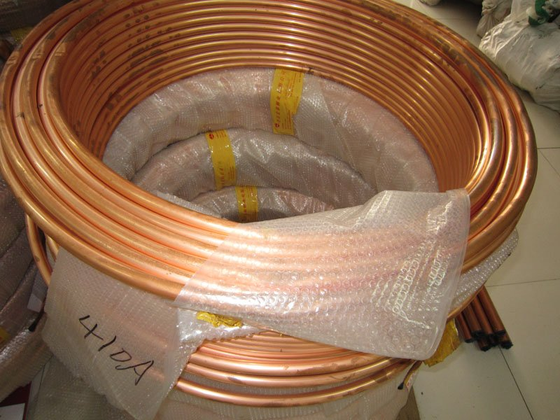 air conditioning tube. free shpping / air conditioning copper pipe /flexible pipe/copper tube /complete in n