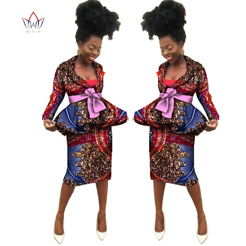 Sommar Nya afrikanska kjol passar Dashiki kvinnor elegant dam - Nationella kläder - Foto 2