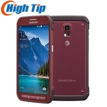 Оригинальный Samsung Galaxy S5 Active G870 смартфон 5.1 дюйм(ов) сенсорный экран 16 Мп Android Восстановленное телефона 16 ГБ Встроенная память Бесплатная доставка