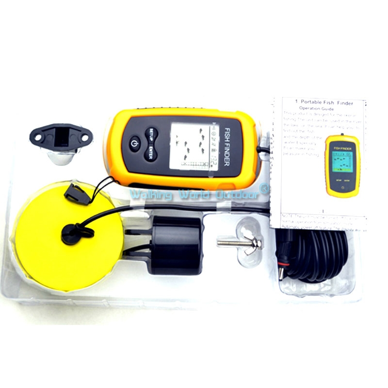 aliexpress : buy portable wired 100m fish finder fishfinder, Fish Finder