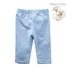 Nowonarodzone spodnie dla niemowląt bawełniane czyste spodnie dla niemowląt girs odzież i odzież dla niemowląt chłopców 100 bezpieczne dla noworodka tanie tanio OrangeMom Stałe Dla dzieci REGULAR Pełnej długości Unisex COTTON Na co dzień Pasuje prawda na wymiar weź swój normalny rozmiar