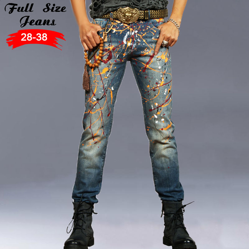 Online Buy Wholesale Mens Painted Jeans From China Mens