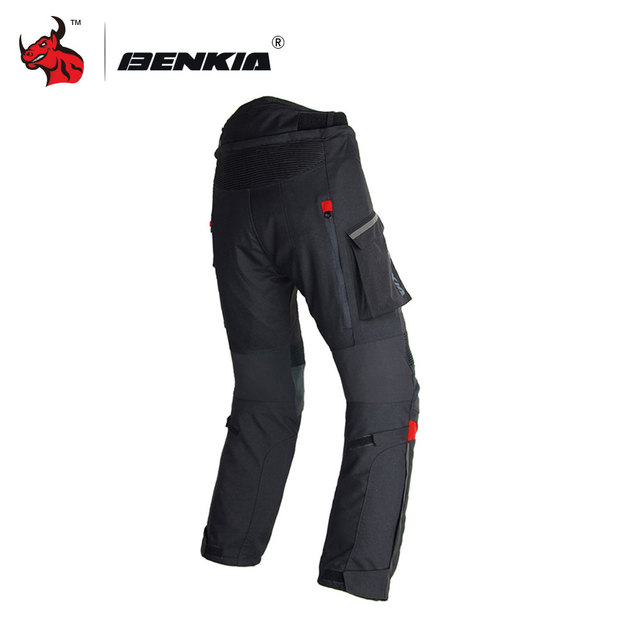 BENKIA Men Motorcycle Pants Winter Rally Pants With Detachable Warm Liner Off Road Motocross Trousers Pantalon Moto S-XXXXL 4