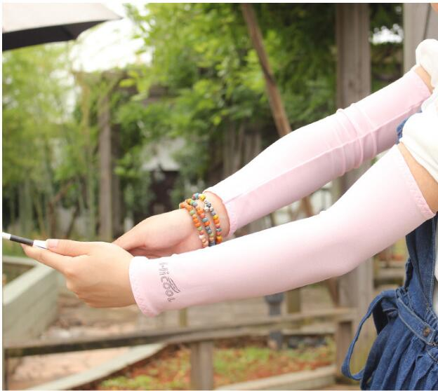 Women Sunscreen Gloves Female Fashion Summer Finger Less Anti-UV Long Opera Sun Driving Glove New Listing