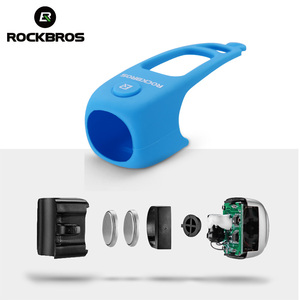 Image 3 - ROCKBROS Electric Cycling Bell 90 dB Waterproof Button Cell MTB Bicycle Handlebar Horn Silica Gel Shell Ring Bell Bike Accessory