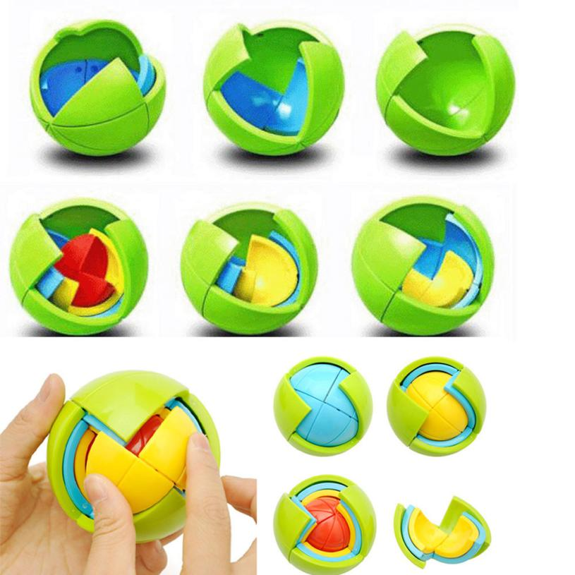 Kids Baby DIY Maze Ball Mini Around Educational Game Toy AR Toy Drop Shipping Y727