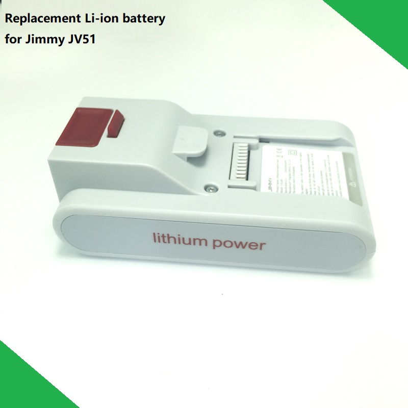 New Original Replacement Battery T DC38H for XIAOMI JIMMY JV51 Handheld Wireless Strong Suction Vacuum Cleaner