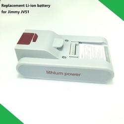 Nieuwe Originele Vervangende Batterij T-DC38H voor XIAOMI JIMMY JV51 Handheld Draadloze Sterke Zuigkracht Stofzuiger Onderdelen
