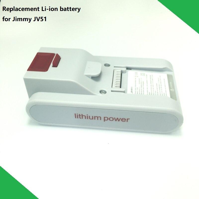 Nouveau remplacement Original batterie T-DC38H pour XIAOMI JIMMY JV51 poche sans fil forte aspiration aspirateur pièces de rechange