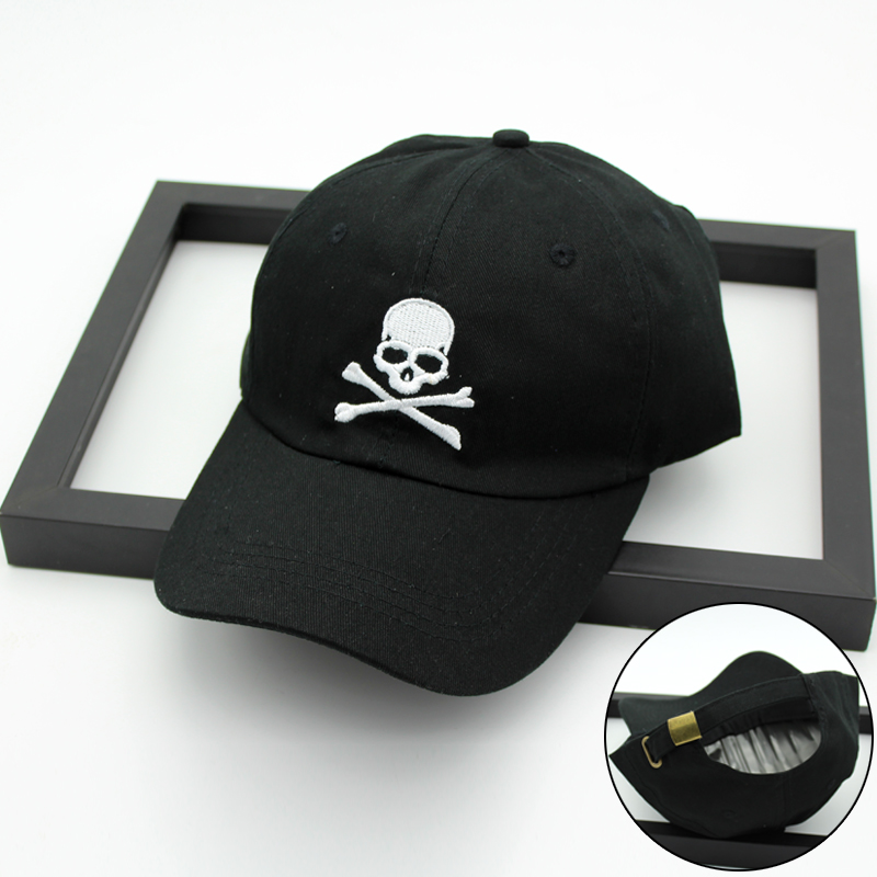 Detail Feedback Questions about Wholesale Popular Baseball Cap Embroidery  Skull heads casual Girls boys Snapback Hat Hip Hop Cap hats for unisex hat  lovers  ... 23eb223d2f58
