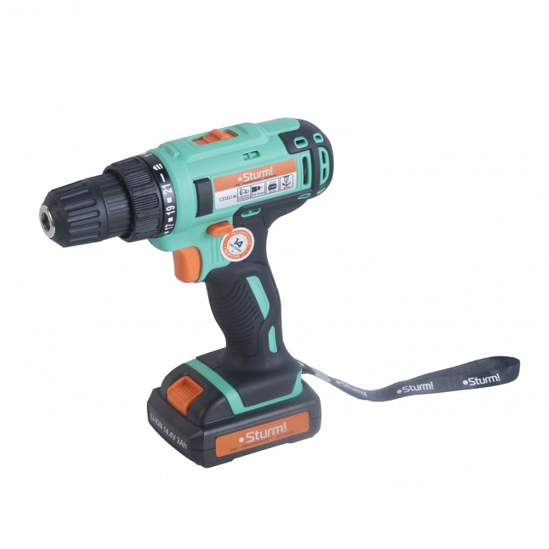 Drill driver rechargeable Sturm CD3214L