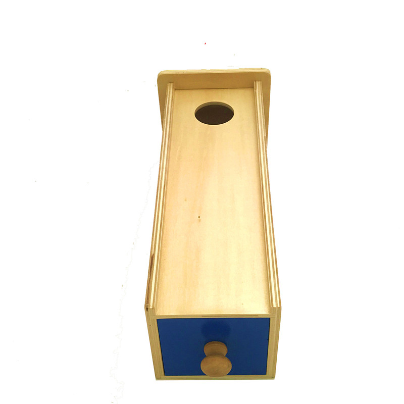 Nouveaux jouets en bois Montessori une boule de tiroir bébé jouets éducatifs cadeaux de bébé