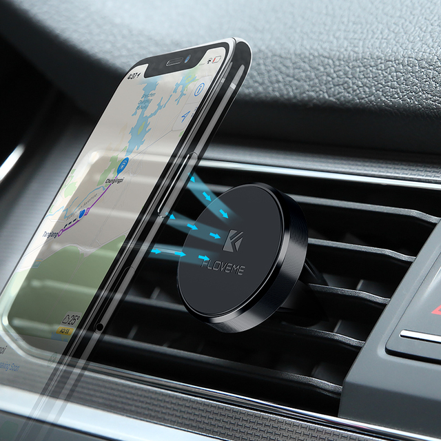 Magnetic Car Phone Holder Stand Air Vent By FLOVEME