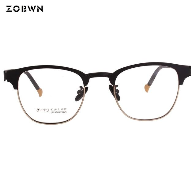 Man glasses super thin Vintage frames Women glasses Lunettes Retro ...