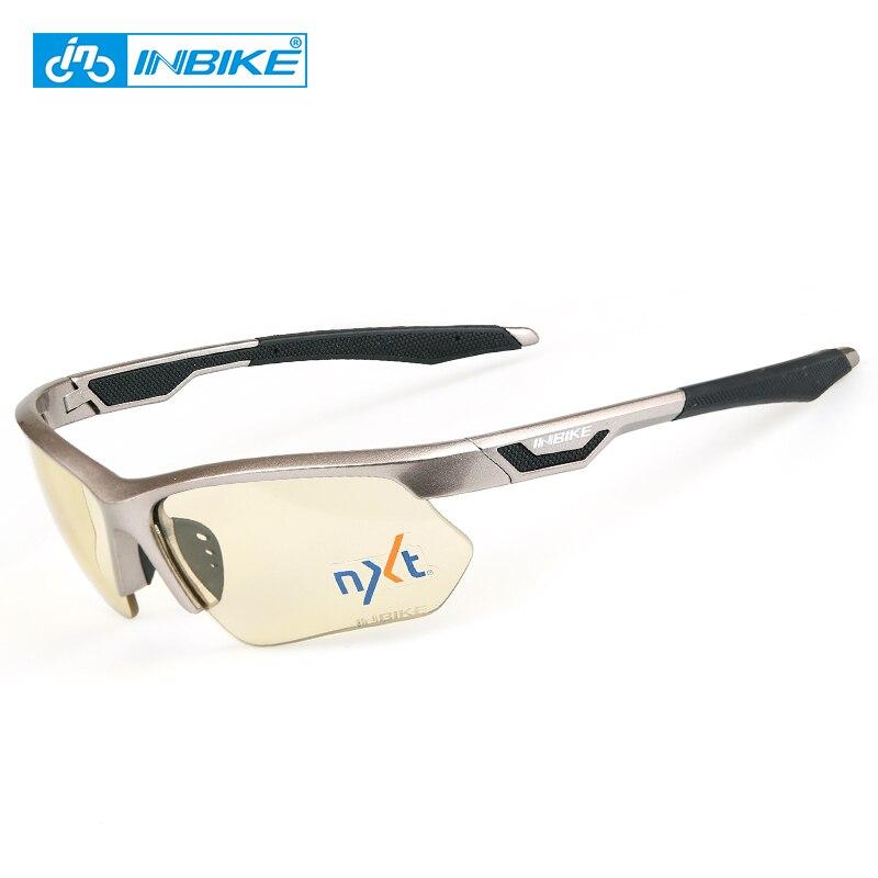 INBIKE 1sec фотохромные Велоспорт Рыбалка Солнцезащитные очки для женщин Велосипедный Спорт Очки для лыжного спорта Мужская велосипед speedcraft за...