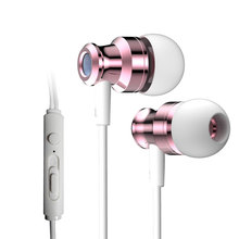 Waterproof Earphones 3.5MM With Mic Headphones Stereo Bass Music Headset Noise Cancelling Earbuds For All Mobile Phone Use