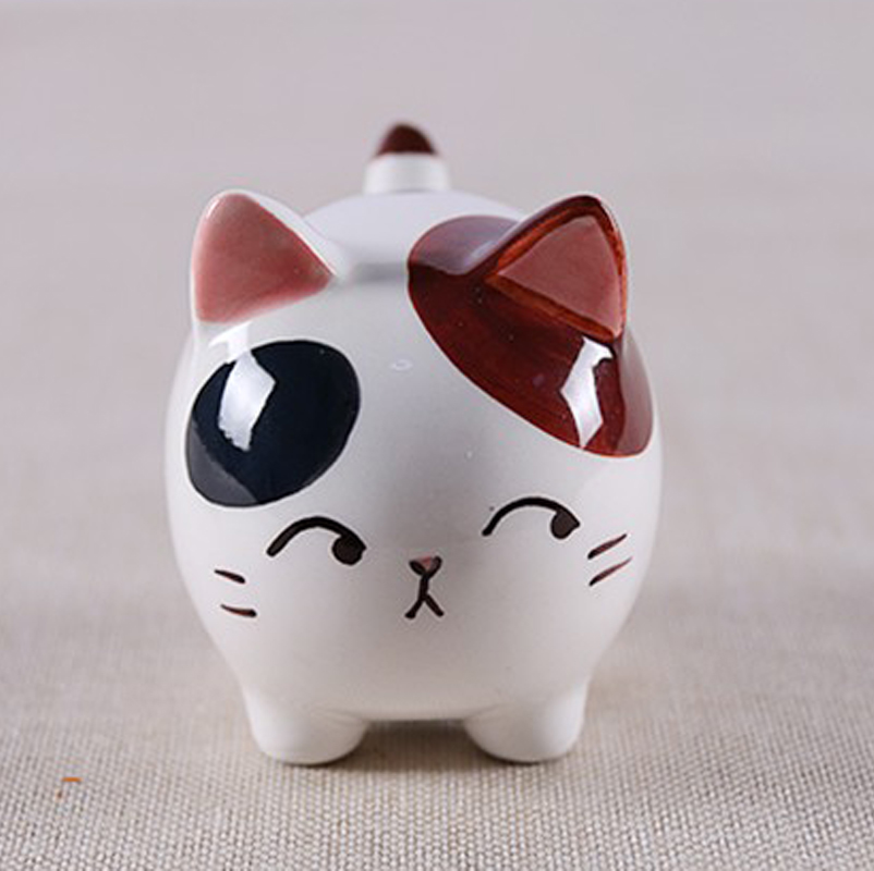 سرامیک زیبا گربه چربی دکوراسیون منزل - دکور خانه