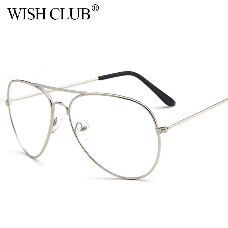 WISH CLUB Clear Glasses Women Brand Designer Eyewear ...