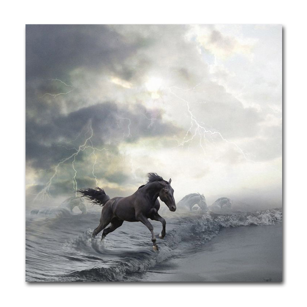 Horse Running Posters and HD Prints Home Decor Wall ...