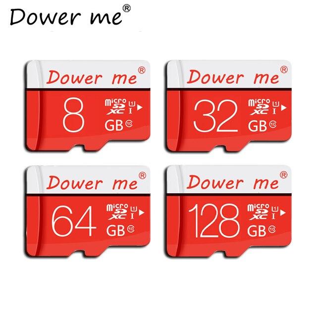 Красный Tarjeta де memoria карты памяти Micro SD Card 4 ГБ 8 ГБ 16 ГБ 32 ГБ 64 ГБ 128 ГБ TF карты mini memory stick для мобильного телефона